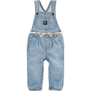 Oshkosh B'gosh Knit Denim Overalls 24 Months Girl